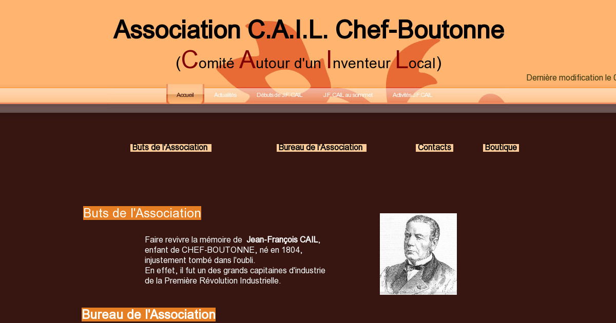 association cail chef boutonne comit autour d 39 un inventeur local. Black Bedroom Furniture Sets. Home Design Ideas